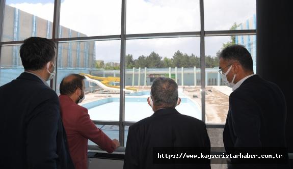 Büyükşehir Spor A.Ş. Sümer Yüzme Havuzu 'nu Hizmete Açtı