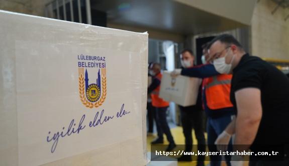 Lüleburgaz'da İlk 6 Ayda 839 Aileye Nakdi Destek Sağlandı