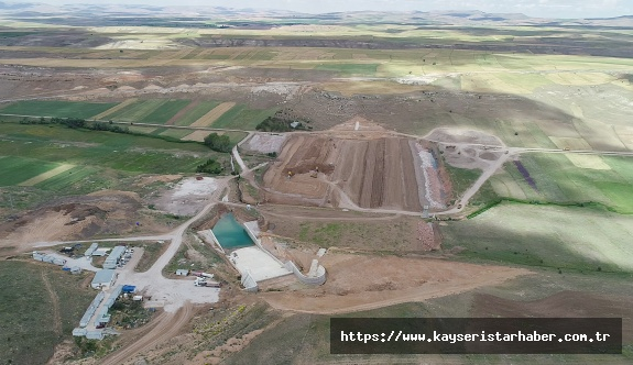 Panlı Barajı'nda çalışmalar devam ediyor