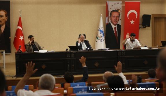 Talas Meclisi Temmuz Toplantısını Gerçekleştirdi