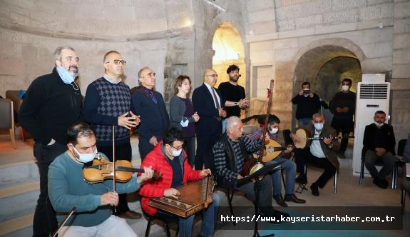 Talas Musiki Cemiyeti'nde Kurslar Devam Ediyor