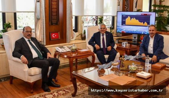 Başkan Büyükkılıç'ın Ankara'da Yoğun Gündemi