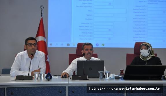 """Büyükşehir'in """"Mezarlık Bilgi Sistemi"""" Projesi 16 İlçede"""