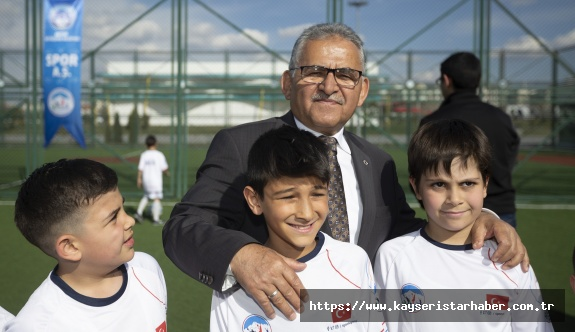 Büyükşehir Spor A.Ş.'den 10 Bin Genç Ve Çocuğa Eğitim