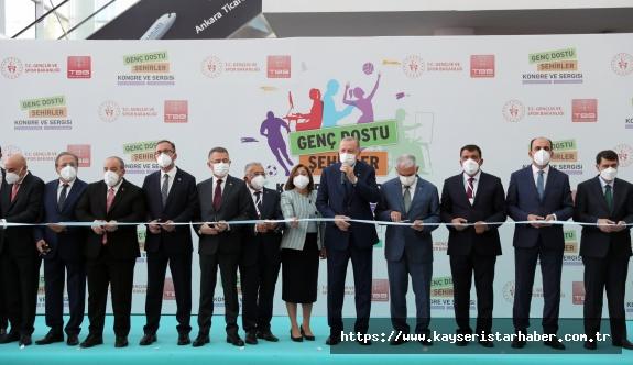 Cumhurbaşkan Erdoğan'dan Kayseri Büyükşehir'e Ödül