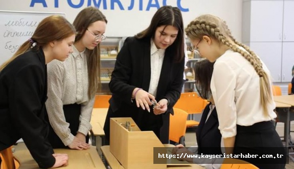 Rosatom 2021 Yılında Atom Sınıfları Zincirine 6 Yeni Okul Kabul Edecek