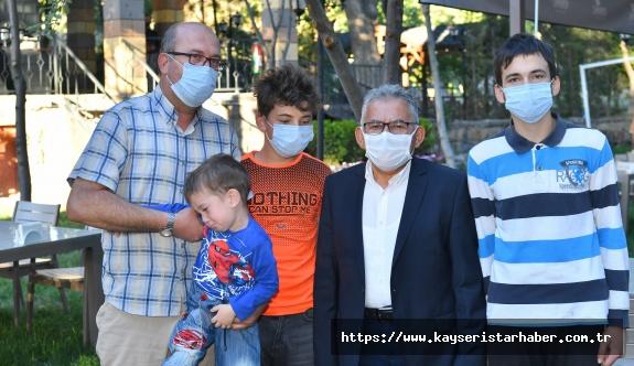 Büüykşehir'in Koramaz Vadisi İle Kayseri Mutfağını Buluşturduğu Mekan Hizmete Açıldı