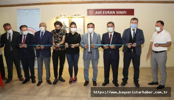 ERÜ'de İktisadi ve İdari Bilimler Fakültesi'nin Açılış Dersi Rektör Prof. Dr. Mustafa Çalış ve Mustafa Alan Tarafından Verildi