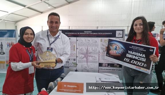 Kto Karatay Üniversitesi Teknofest 2021'den Birincilikle Döndü