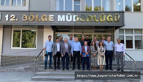 Milletvekili İsmail Tamer'den Kırsal Mahalleler İçin Dsi'ye Ziyaret