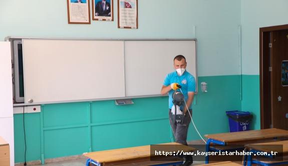 Talas'ta Okullar Yüzyüze Eğitime Hazır