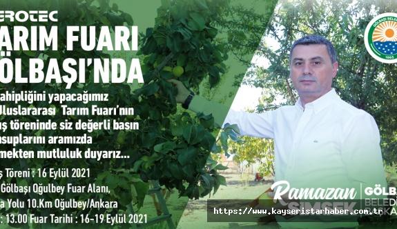 Tarım'ın Kalbi 24. Kez Ankara Gölbaşı'nda Atacak