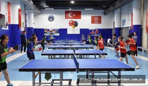 Türkiye'nin Masa Tenisindeki Sporcu Fabrikası 'Kocasinan'