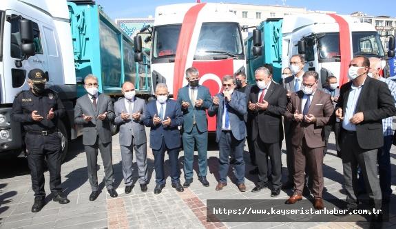 Büyükşehir'in 6 Milyon TL'lik Araçları İle Hafriyat Yönetim Sistemi Tanıtıldı