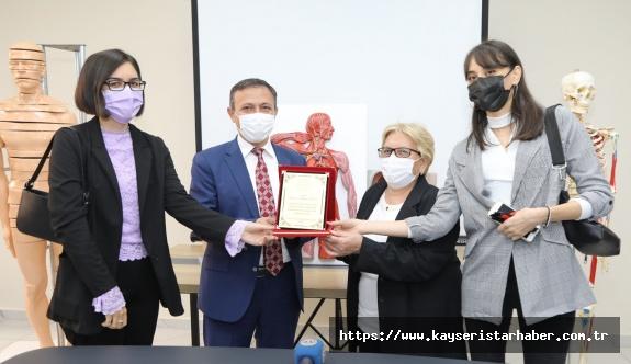 ERÜ'de Anatomi Laboratuvarı'nın Açılışı Gerçekleştirildi