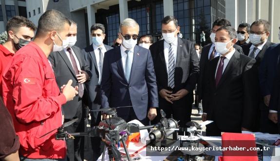 """ERÜ'de """"Savunma Sanayii Gençlerle Buluşma"""" Etkinliği Düzenlendi"""