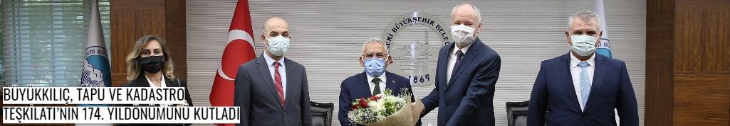 Büyükkılıç, Tapu Ve Kadastro Teşkilatı'nın 174. Yıldönümünü Kutladı