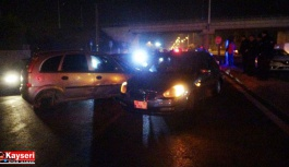 Kayseri'de zincirleme kaza: 5 araç birbirine girdi
