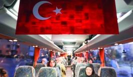Talas, şehit annelerini Diyarbakır'a gönderdi