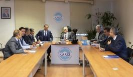 KASKİ'de yatırım toplantısı