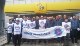 """""""PTT personelleri çözüm beklemekten bıktı"""""""