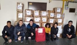 ADD Kayseri'den depremzedelere yardım
