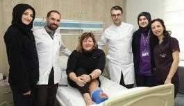 Erciyes'te sakatlanan Ukraynalı Oksana, Kayserili doktorlara hayran kaldı