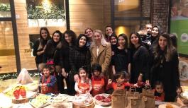 TEV Kayseri gönüllü kadınlar grubu'ndan 3 saatte 3 liseli için burs