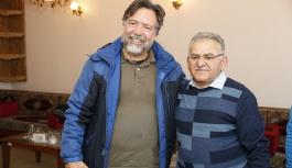 Brezilya başkonsolosu başkan Büyükkılıç ile buluştu