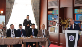 VEFDEK dönem başkanlığına Prof. Dr. Abdullah İnci seçildi