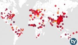 Yurtdışında ölen Türk sayısı 50'ye, vaka sayısı 151'e ulaştı