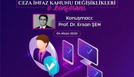Avukatlara E-konferans'lı eğitim