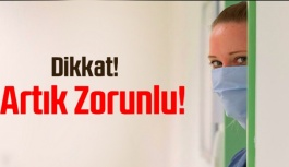Sağlık kuruluşlarına maske ile girilecek