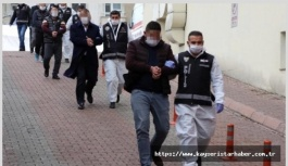 Suç örgütü operasyonunda 8 tutuklama