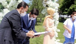Sosyal mesafeli nikah