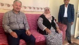 Develi Kaymakamı  Duru, Şehit annesini unutmadı