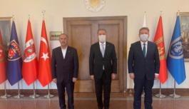 Palancıoğlu, Bakan Akar'ı ziyaret etti