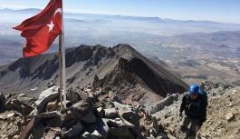 Erciyes'te zirve tırmanışları