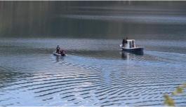 Genç kadın göle atlayarak canına kıydı