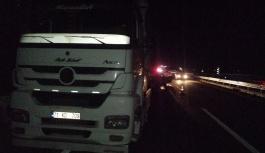 Kayseri-Ankara yolunda feci kaza:2 ölü, 1 yaralı