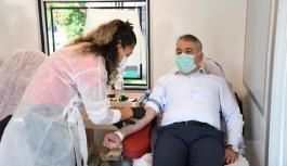 Tarım'dan Kızılay'a Kan bağışı desteği