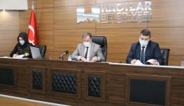 Hacılar Belediyesi Nisan Ayı Meclisi Yapıldı