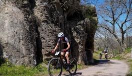 Kayseri'de Uluslararası Dağ Bisikleti Yarışları Heyecanı