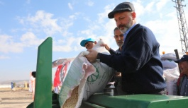 Kocasinan'Da Tarıma Destek Devam Ediyor