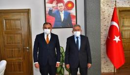 """Başkan Büyükkılıç' tan Develi 'ye """"Yeni Otogar"""" Müjdesi"""