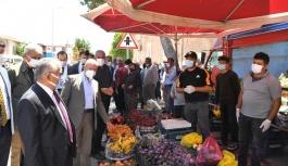 Başkan Büyükkılıç, Yemliha, Ebiç Ve Mahzemin' de Vatandaşlarla Buluştu