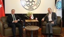 Başkan Özdoğan'dan Gülsoy Ve Nursaçan'a Ziyaret