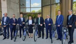 Büyükkılıç'tan Avrupalı Büyükelçiler İle Birlikte Bisiklet Farkındalığı