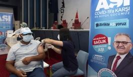 """Büyükşehir'den """"Aşı"""" Seferberliği"""