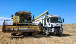 Talas'ta boş araziler tarıma kazandırılıyor
